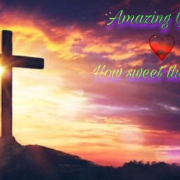 freetoedit easter amazinggrace god jesus