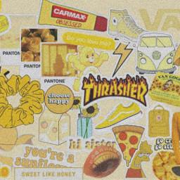 aesthetic thrasher yellow vsco baddie scrunchie freetoedit eczoombackgrounds zoombackgrounds