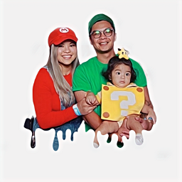 freetoedit family cosplay supermariobros goals
