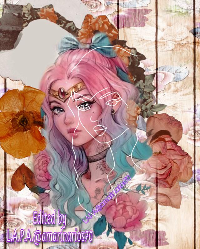 Floral Sketch    #floralsketch #picsartchallenge #animie #animiegirl #flower #picsarteffects #picsartstickers #picsartedit #editbyme #digitalart #artist #photography #photographer #photooftheday @amarinarios70