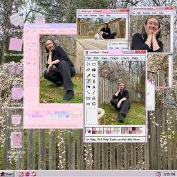 cherryblossom aesthetic computer blossom