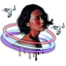 freetoedit challenge lights butterfly rcdripart dripart