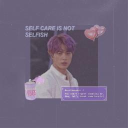 freetoedit purple aesthetic seokjin bts