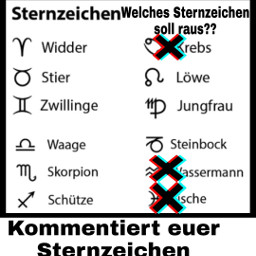 freetoedit sternzeichen comment 4upage fürdich