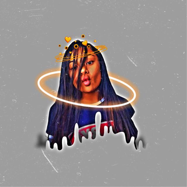 #abishkaa_wkd #dripping #couronnedefleurs #circle #effets #freetoedit
