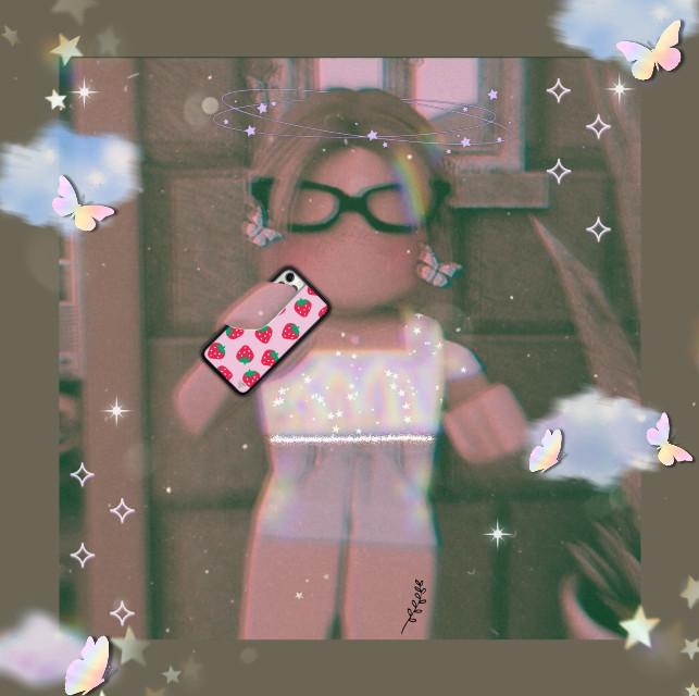 my official profile pic :) (for rn) #aesthetic #gfx #gfx #roblox #robloxcharacter #robloxgirl  #freetoedit