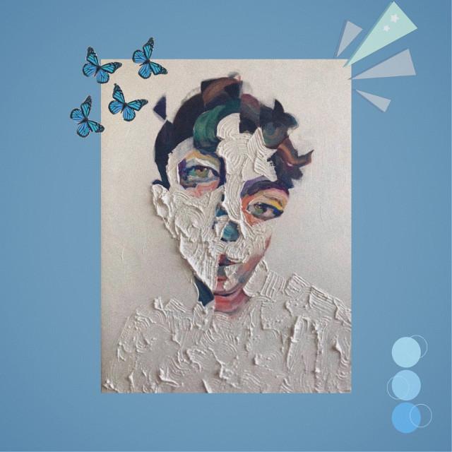 #freetoedit #art #blue #blueaesthetic #asthetic