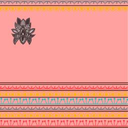 freetoedit pink pattern zentangle
