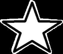 star black white aesthetic freetoedit
