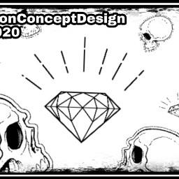 imagemanipulationconceptdesign 2020 like follow skulls