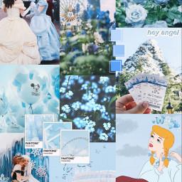 freetoedit disney blue aesthetic blueaesthetic