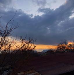 freetoedit sky sunset village