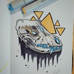 ink drawing art illustration traditonalart freetoedit
