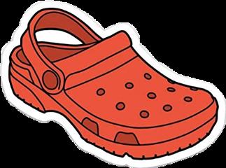 red white black crocs vsco freetoedit