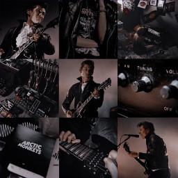 alexturner arcticmonkeys blackaesthetic musicaesthetic rockbands