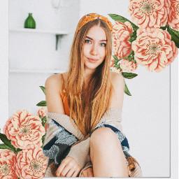 freetoedit flowers frame polaroid vintage