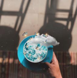 unsplash freetoedit coffee aesthetic surreal