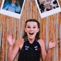 mille bobby brown milliebrown gold freetoedit