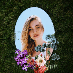 freetoedit mirror mirrorselfie outdoor flowers spring