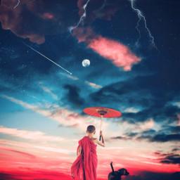 surreal surrealism sky heaven space