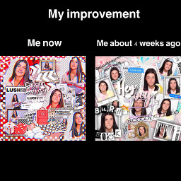 charlidamelio tiktok thenandnow improvement progress