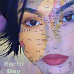 earthday freetoedit youaretheearth loveislove map