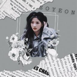 edit aesthetic soyeon music g freetoedit