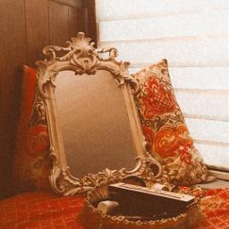 mirror effect retro vintage freetoedit
