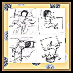freetoedit sleeping positions lol cute