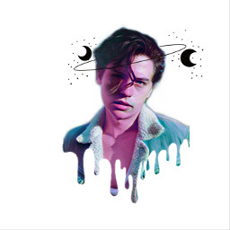 freetoedit colesprouse crown moon cute