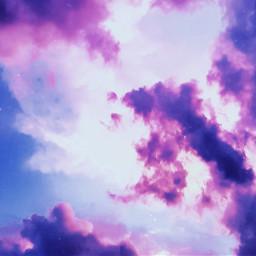 freetoedit sky aesthetic aestheticsky purple