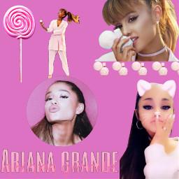 arianagrande pink sweetlikecandy freetoedit