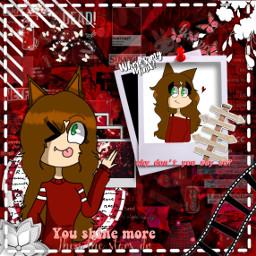 freetoedit red aesthetic rojo redaesthetic