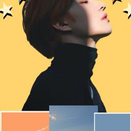 jungwoo nct kpop kpopedit orange freetoedit