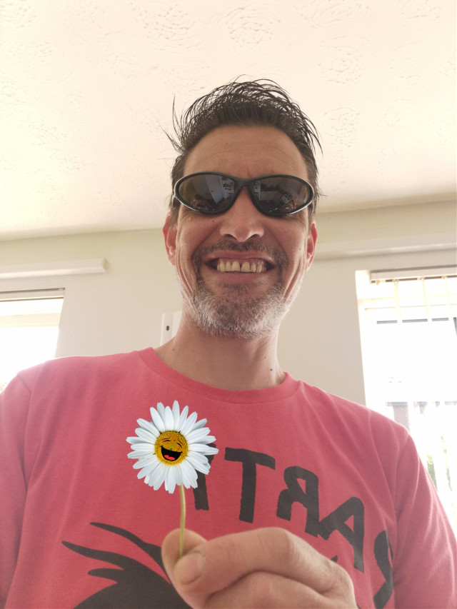 Have a fantastic and safe day #daisy #flower #selfie #happiness #stickers #freetoedit