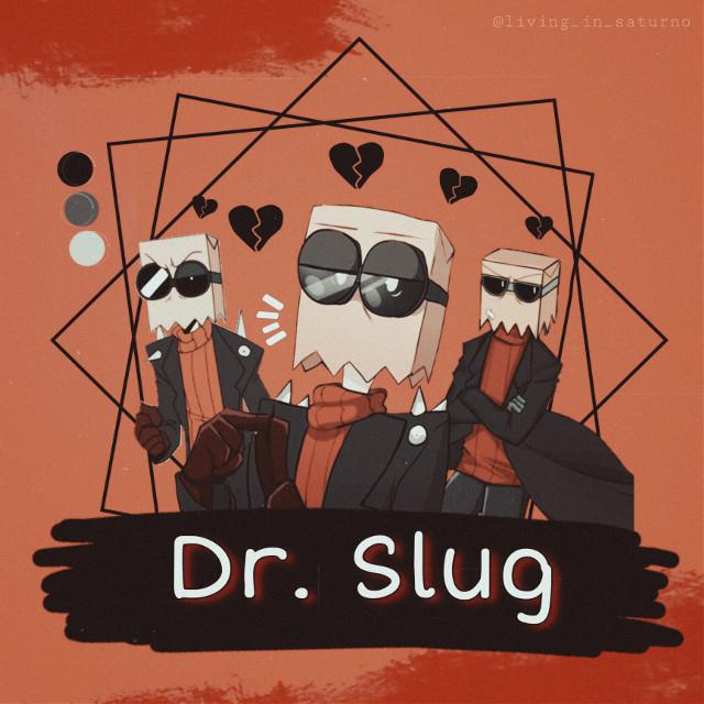#villainous  #drflug  #drslug #badguy  #orangeaesthetic  #freetoedit