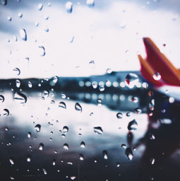 rain airport gofollow freetoedit