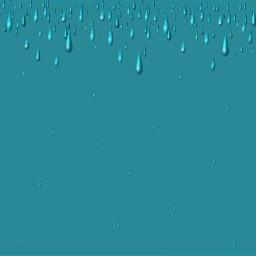 background blue raindrops minimal madewithpicsart freetoedit