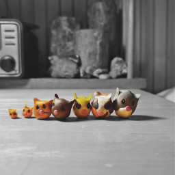 kids playtime clay cats weird freetoedit