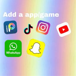 freetoedit snapchat logo colorful addsticker
