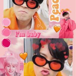 jimin yoongi yoonmin bts kpop freetoedit