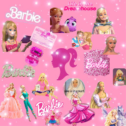 freetoedit barbie barbieaesthetic pink barbietingz