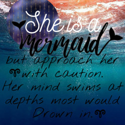 freetoedit mermaid ocean memade