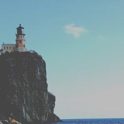 splitrocklighthouse minnesota northshore lakesuperior freetoedit