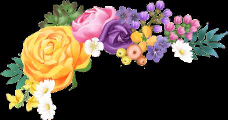 crown flower roses flowercrown colors freetoedit