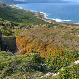 kenting taiwan nationalpark cliff ocean