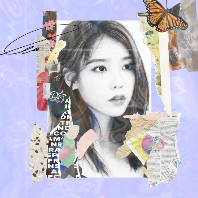 Happy birthday to my little sister @shyshy_army  !!!!💜❤️💜❤️😆 I love you!!! 🎁🎉🎁🎉 Thoughts? #iu #kpop #girl #replay #cute #elegant #purple #collage  #freetoedit
