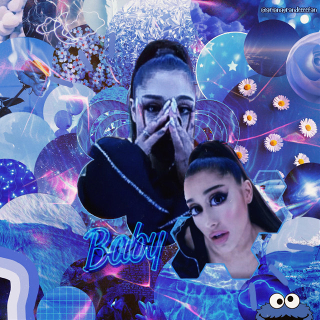 This is the edit for the contest/challenge of @arianabilliefun , please all join her challenge!  #arianagrande #ariana #grande #bluetones #lights #inmyhead  #freetoedit