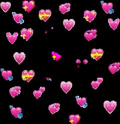 heart emoji emojiheart pink heartedit freetoedit