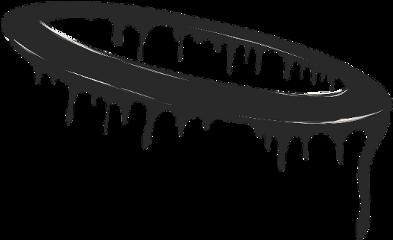 halo sticker halosticker black blacksticker freetoedit